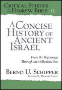 A concise history of ancient Israel : from the beginnings through the Hellenistic era
