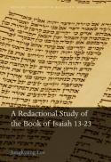 A redactional study of the book of Isaiah 13-23